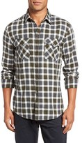 Billy Reid Men's Graham Trim Fit Check Sport Shirt
