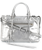 Rebecca Minkoff Micro Regan satchel - women - Calf Leather - One Size