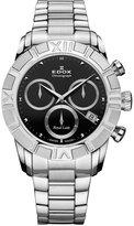 Edox Women's 10406 3 NIN Royal Lady Chronograph Dial Steel Watch