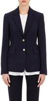 Theory Women's Two-Button Teshonna Jacket-NAVY