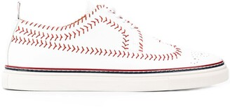 Thom Browne Baseball Stitching Sneakers