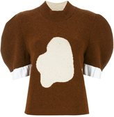 J.W.Anderson puffed sleeve cloud jumper - women - Polyamide/Polyester/Polypropylene/Virgin Wool - XS