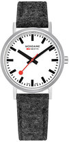 Mondaine Simply Elegant Fabric Strap Watch