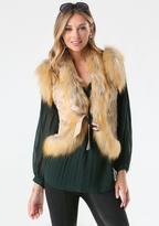 Bebe Courtney Faux Fur Vest