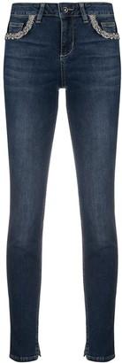 Liu Jo Skinny Jeans With Crystal Detail
