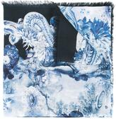 Roberto Cavalli multiple prints scarf - women - Modal - One Size