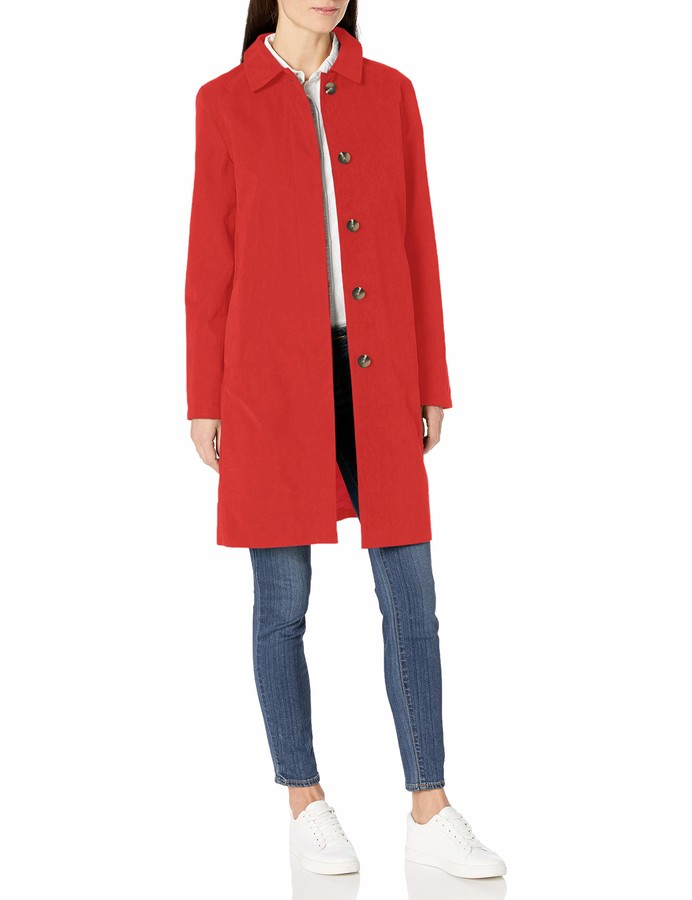 Thumbnail for your product : Amazon Essentials Water-resistant Trench Coat Jacket