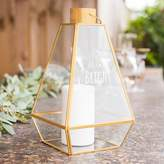 "Cathy's Concepts Cathys Concepts Shine Bright"" Geometric Lantern Table Decor"