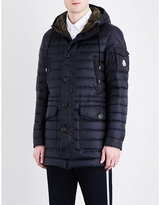 Moncler Quilted Shell Coat
