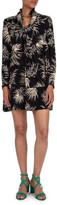 BA&SH Eugenie Printed Smock Dress