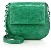 Nancy Gonzalez Round Crocodile Crossbody Bag