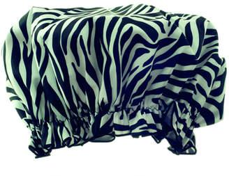 Hydrea London London Eco-friendly Shower Cap - Zebra