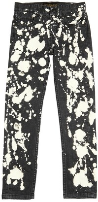 Finger In The Nose PRINTED STRETCH DENIM JEANS