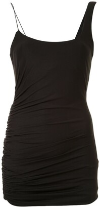 Alix Emmons draped detail dress