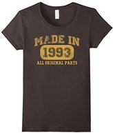 Børn Women's in 1993 Tshirt 24th Birthday Gifts 24 yrs Years Made in Small