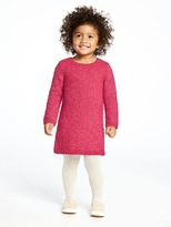 Old Navy Textured Sweater-Knit Shift Dress for Toddler