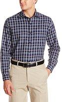 Cutter & Buck Men's Long Sleeve Issac Plaid Woven Shirt