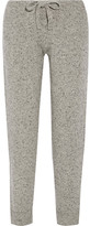 Hatch The Jogger Mélange Wool-blend Track Pants - Gray