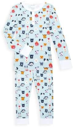 Roller Rabbit Baby's, Little Kid's & Kid's Zoo 2-Piece Pajama Set