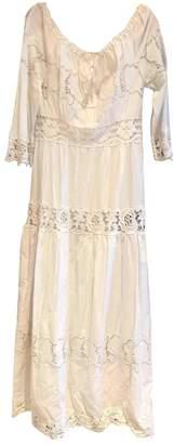 Philosophy di Alberta Ferretti White Cotton Dresses