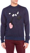 Eleven Paris Scooby Doo Stripe Fleece Sweatshirt