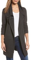 Women's Caslon Convertible Collar Sweater Coat
