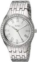 XOXO Women's Quartz Metal and Alloy Casual Watch, Color:Silver-Toned (Model: XO189)