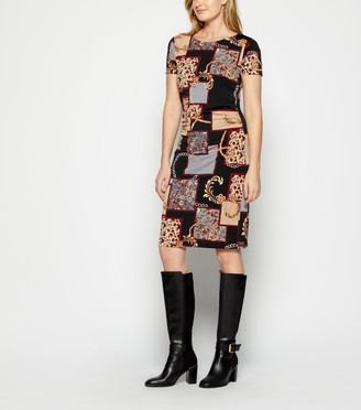 New Look StylistPick Chain Print Jersey Dress