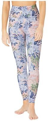 Beyond Yoga Olympus High Waisted Midi Leggings (Botanical Bouquet) Women's Casual Pants
