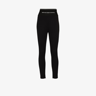 Alexander Wang Logo waistband leggings