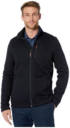 Smartwool Hudson Trail Fleece Full Zip Jacket (Navy) Men's Coat