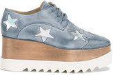 Stella McCartney Elyse star detail shoes - women - Artificial Leather/rubber - 38