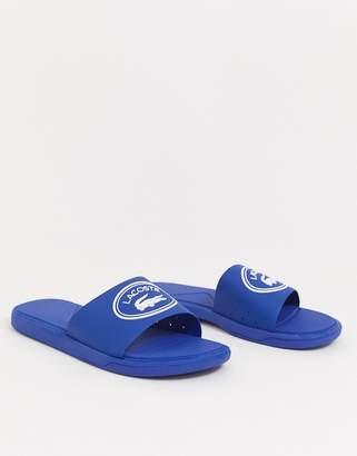 Lacoste L30 slide in blue/white