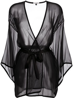 Gilda & Pearl Ava silk kimono