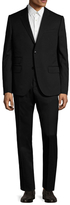 Gucci Wool Solid Notch Lapel Suit