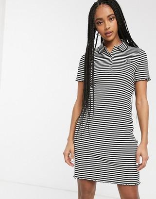 Lacoste striped polo dress