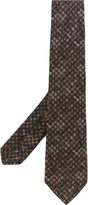 Kiton printed tie - men - Silk/Wool - One Size