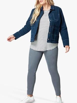 Live Unlimited Zip Pocket Jeans, Grey