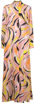 Emilio Pucci Vetrate print shirt dress