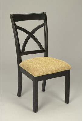 AA Importing X Back Side Chair