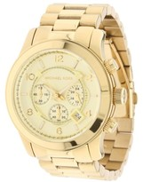 Michael Kors Gold Tone Stainless Steel Mens Watch