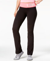 Material Girl Active Juniors' Love Yoga Pants, Only at Macy's