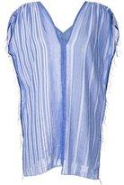Lemlem striped V-neck top