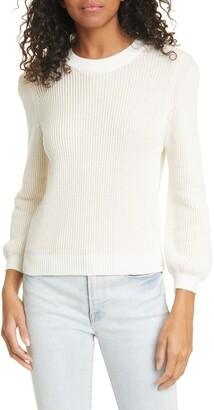 Frame Rib Organic Cotton Sweater