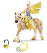 Schleich Sera Fairy & Horse Toy Figure Set