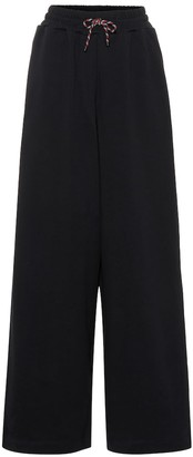 Dries Van Noten High-rise cotton trackpants
