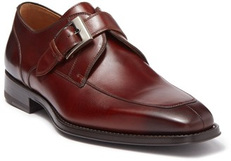 Magnanni Mauricio Leather Monk Strap Loafer