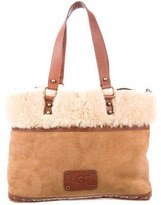 UGG Shearling & Leather Bag