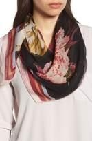 Vince Camuto Dreamscape Floral Silk Chiffon Scarf