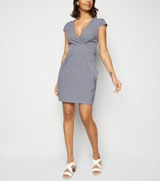 New Look Geometric Tulip Dress